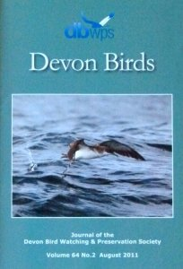 Devon Birds Journal August 2011