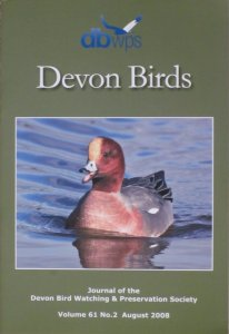 Devon Birds Journal August 2008