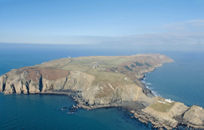 Lundy from the air R Campney