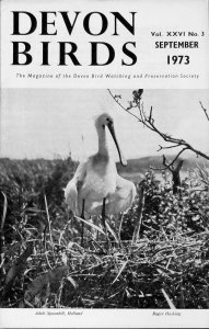 Devon Birds Magazine 1958 to 1973 inclusive