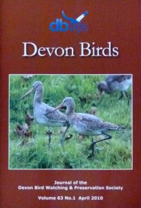 Devon Birds Journal April 2010