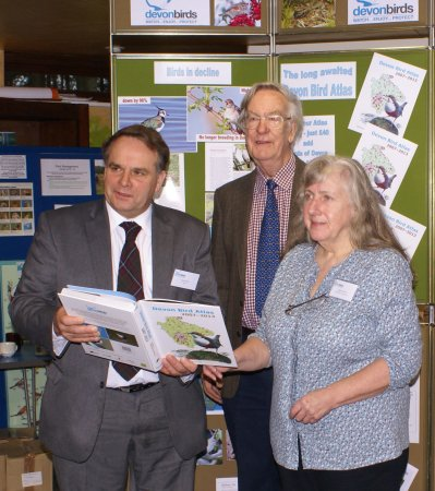 MP  Neil Parish with Co-editors Mike Lock & Stella Beavan