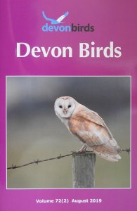 Devon Birds Journal August 2019